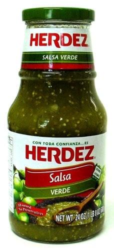 salsa verde tostada casserole