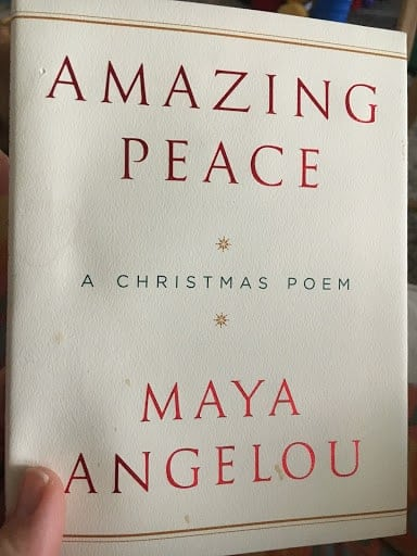 maya angelou amazing peace