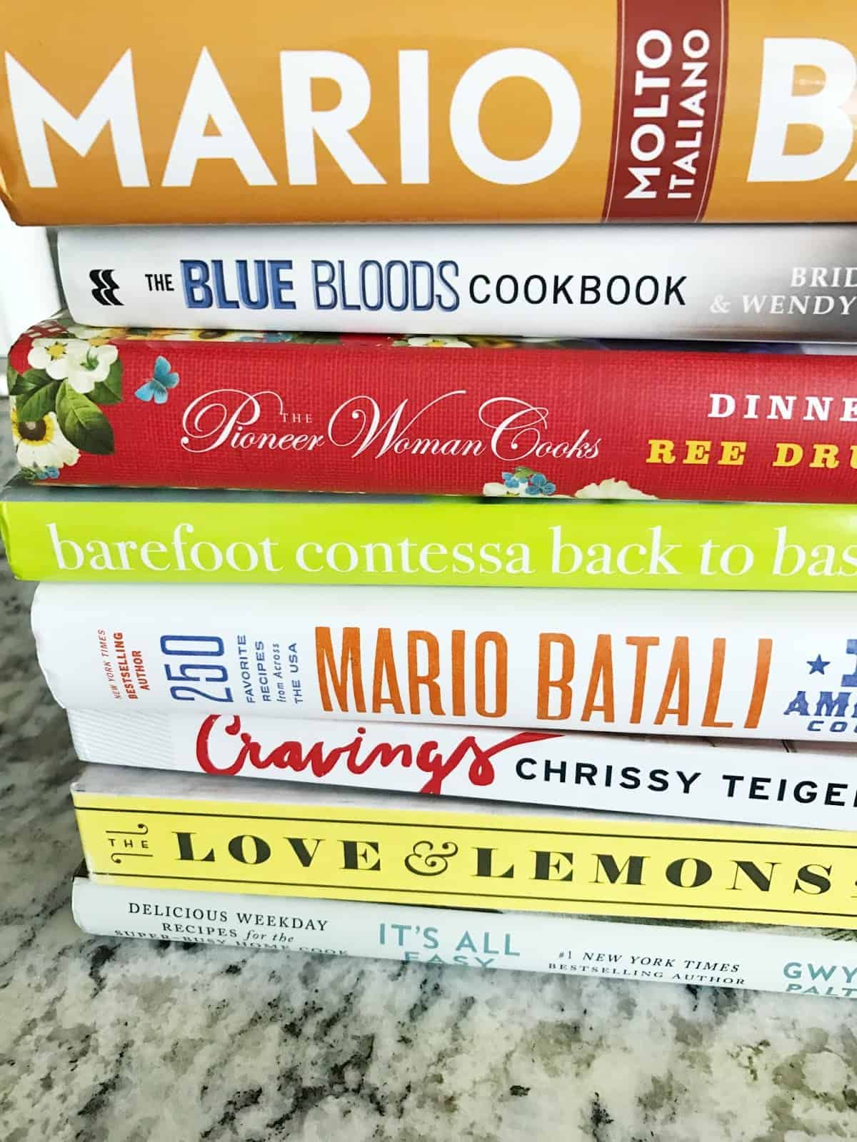 Favorite Cookbooks (so far anyway)