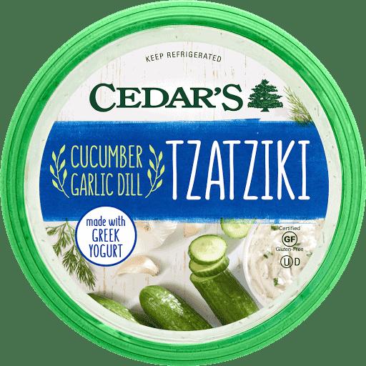 cedar's cucumber garlic dill tzatziki