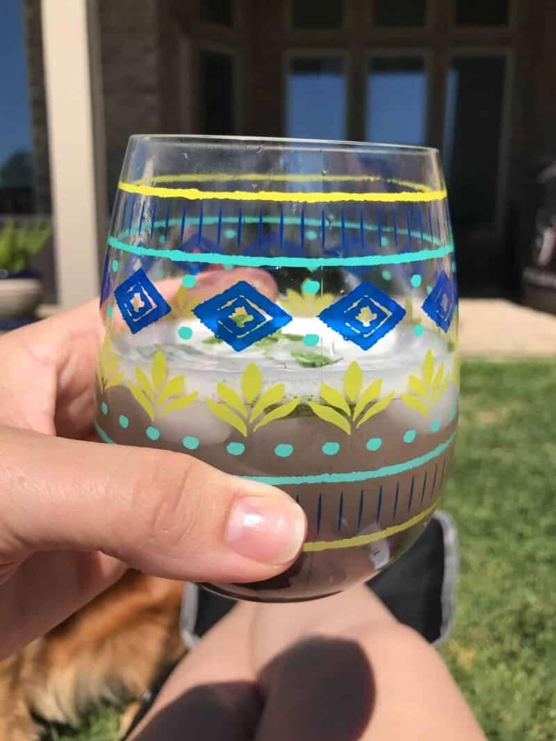 blackberry breeze cocktail