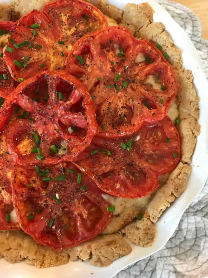 Heirloom Tomato Pie