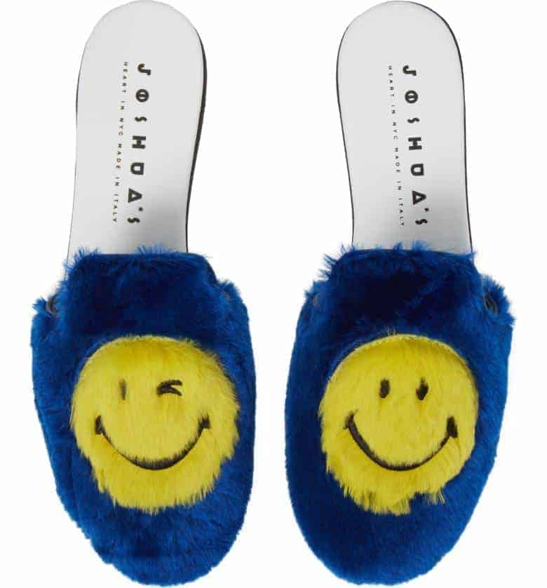 Smile Genuine Rabbit Fur Loafer Mule JOSHUA SANDERS