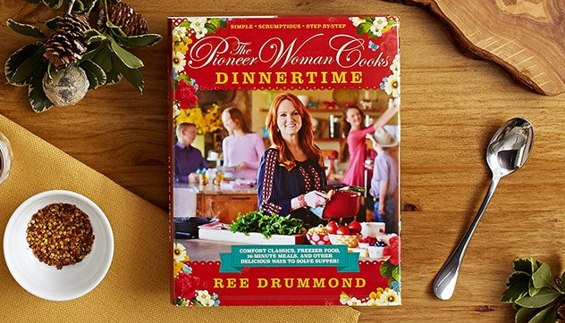 pioneer woman dinnertime cookbook