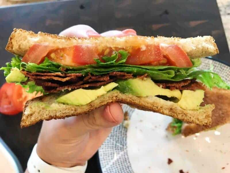 avocado turkey bacon BLT