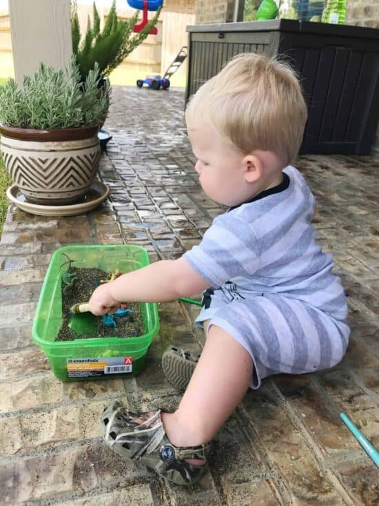sensory play for toddler