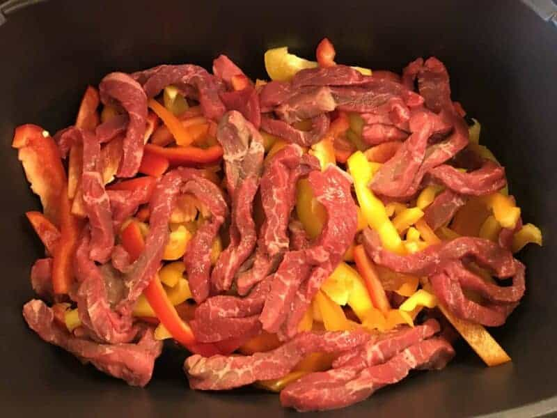 Crock Pot Asian Steak + Peppers