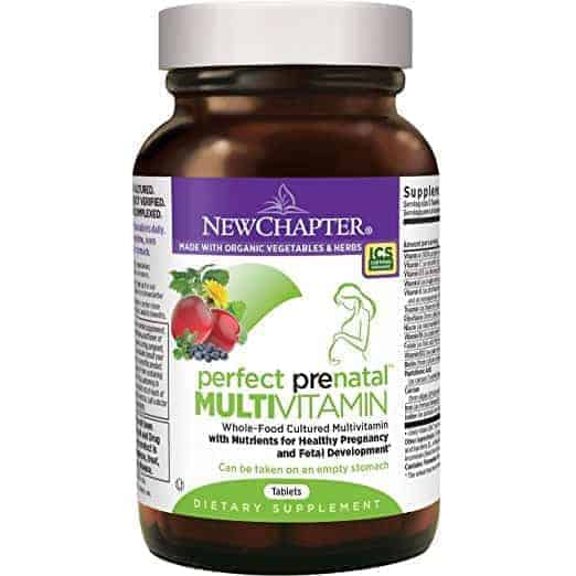 New Chapter Prenatal Vitamins