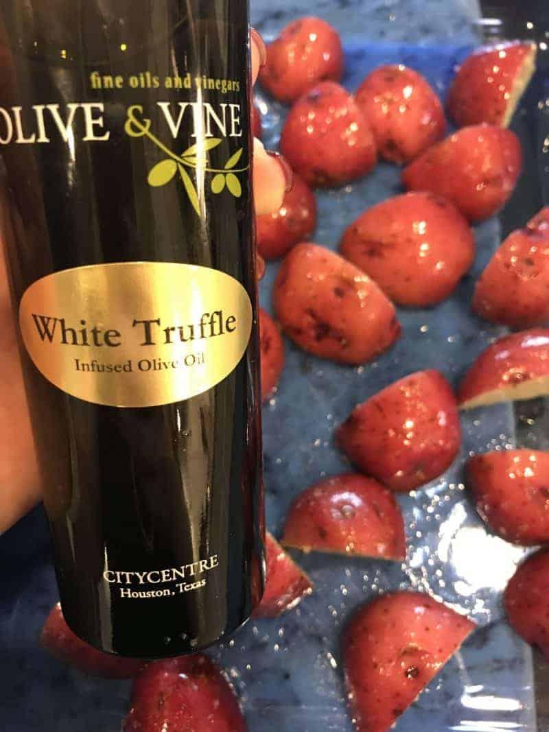 Olive & Vine White Truffle Oil