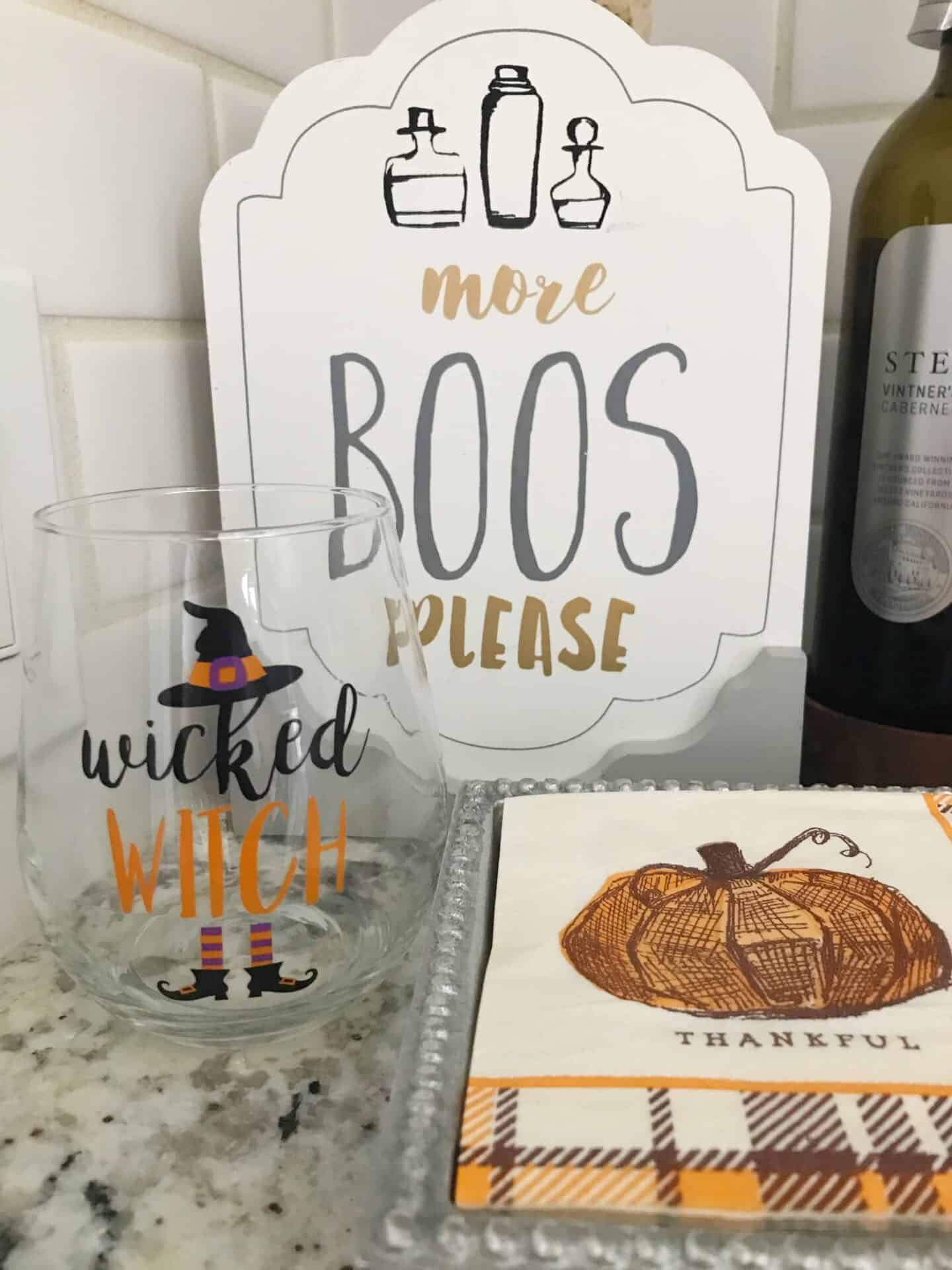 Halloween Decor + Thoughts for Thursday