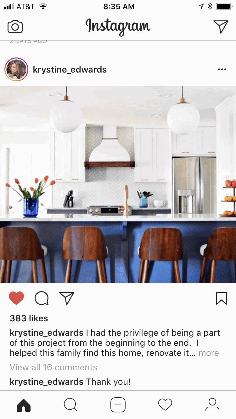 krystine edwards kitchen