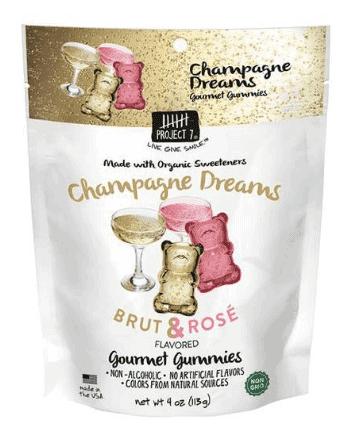 champagne dreams gourmet gummies