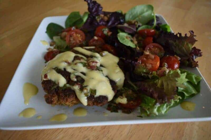 tuscan chicken cakes