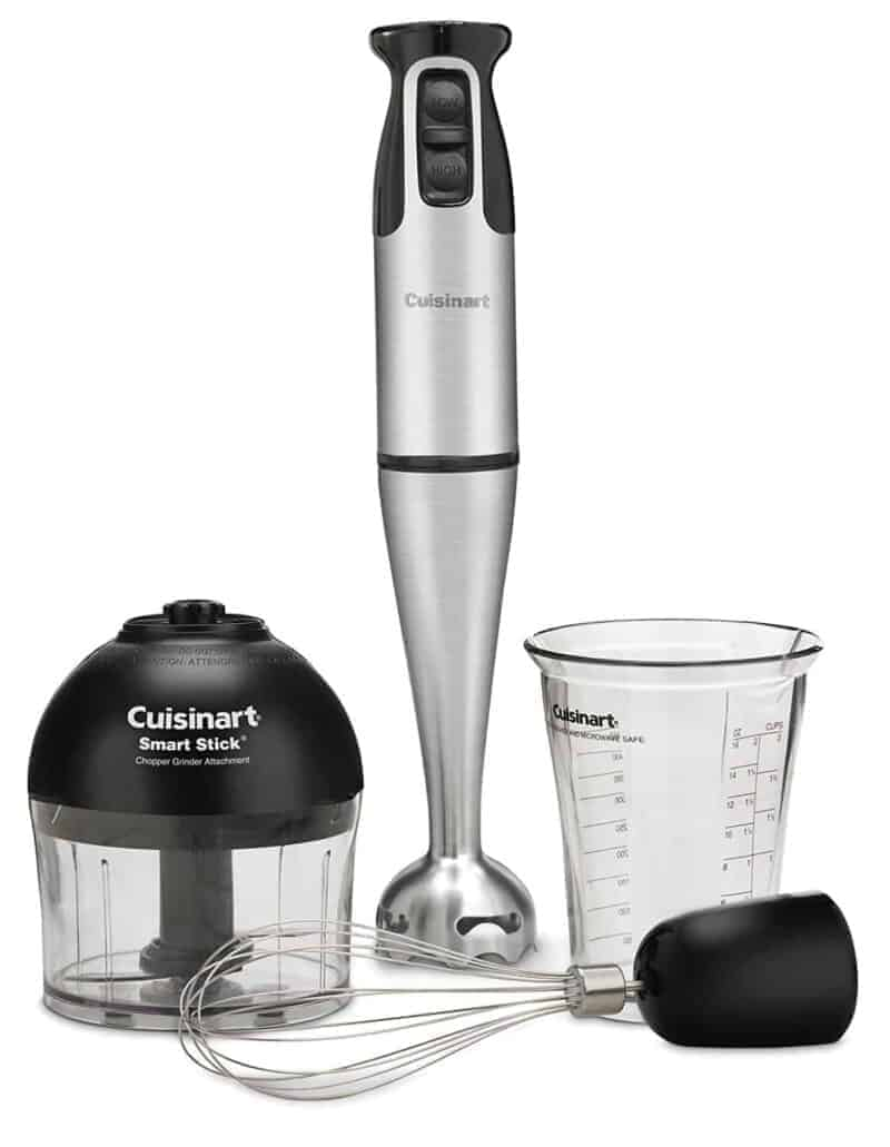 Cuisinart Immersion (Hand) Blender with Whisk + Chopper Tools