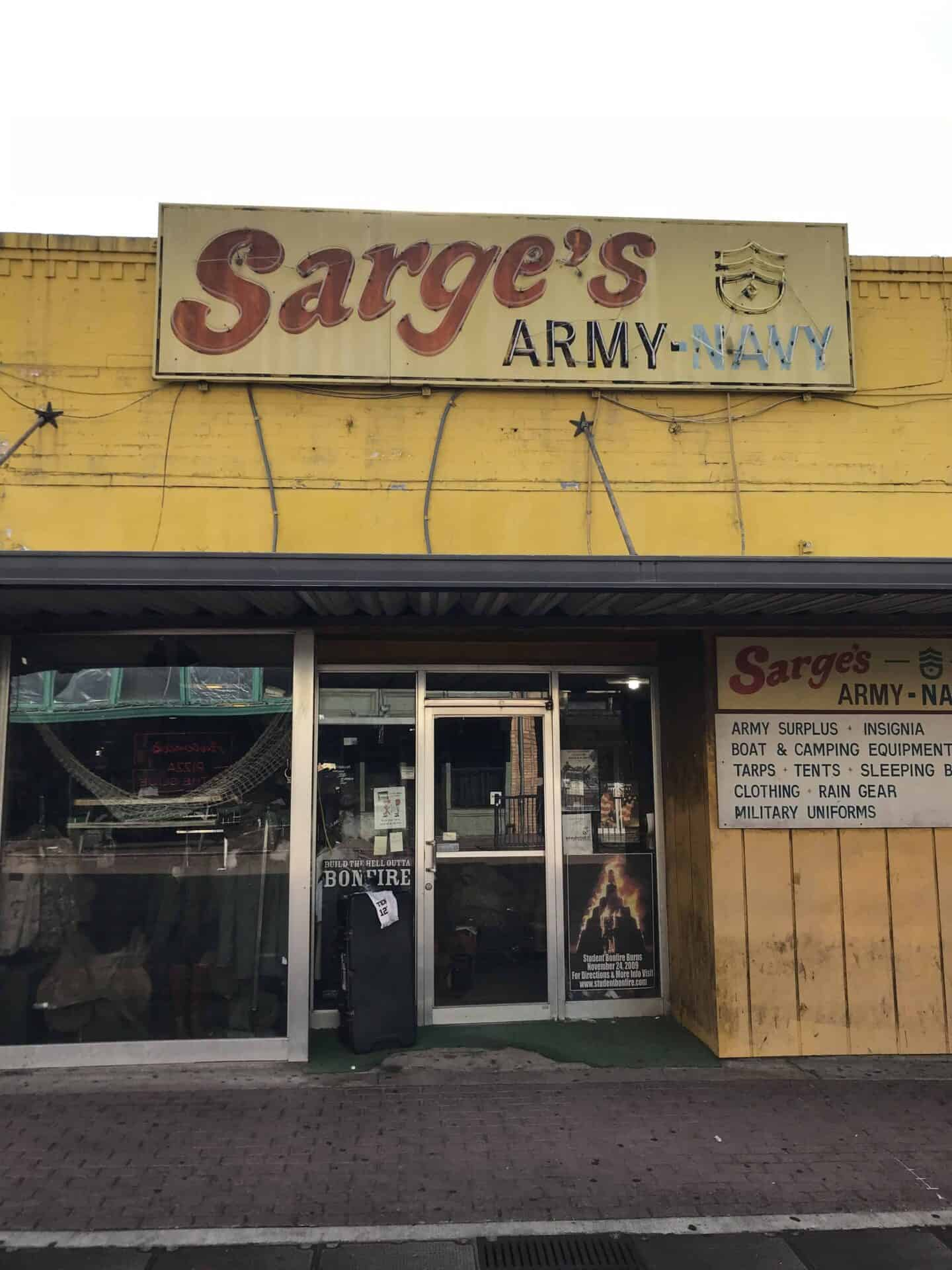 sarge's army