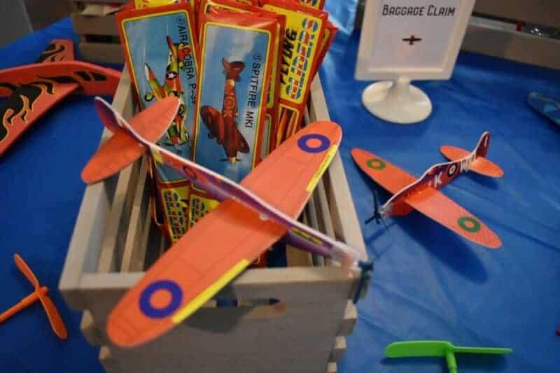 aviator vintage airplane party