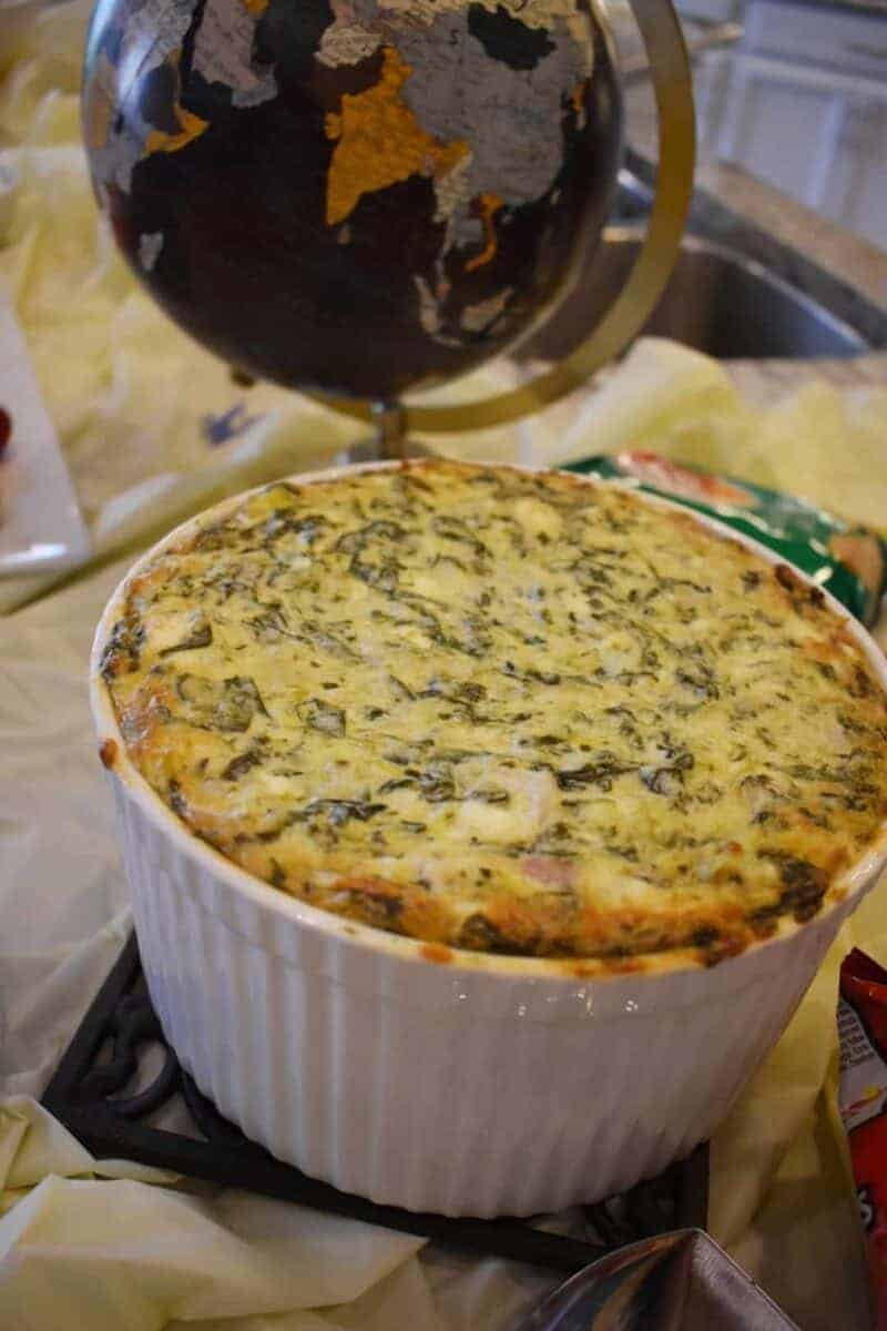 Seward Lodge Spinach and Artichoke Dip