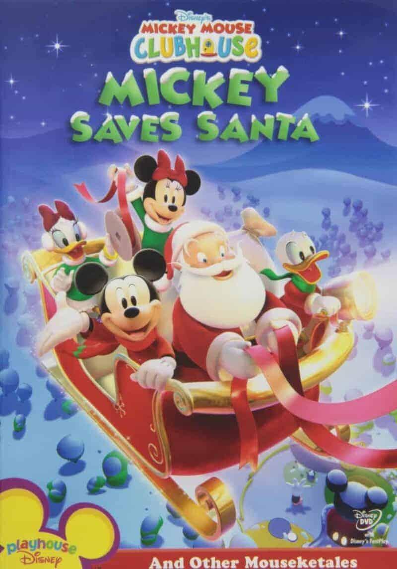 Mickey Saves Santa