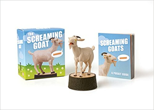 Screaming Goats Book and Figure