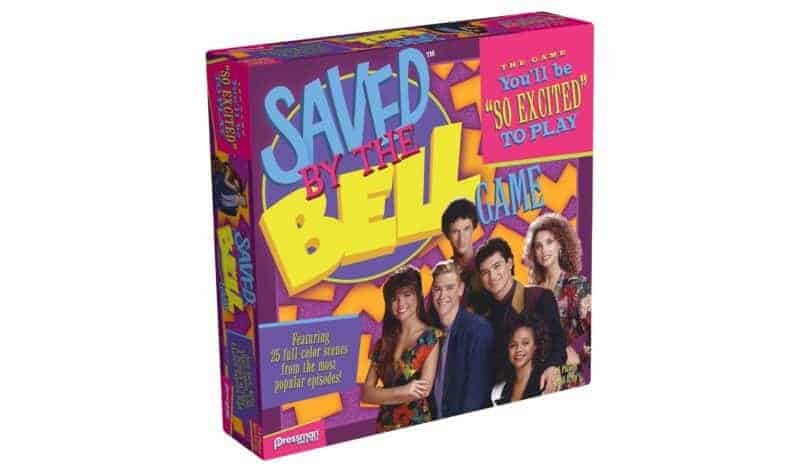 saved by the bell board game