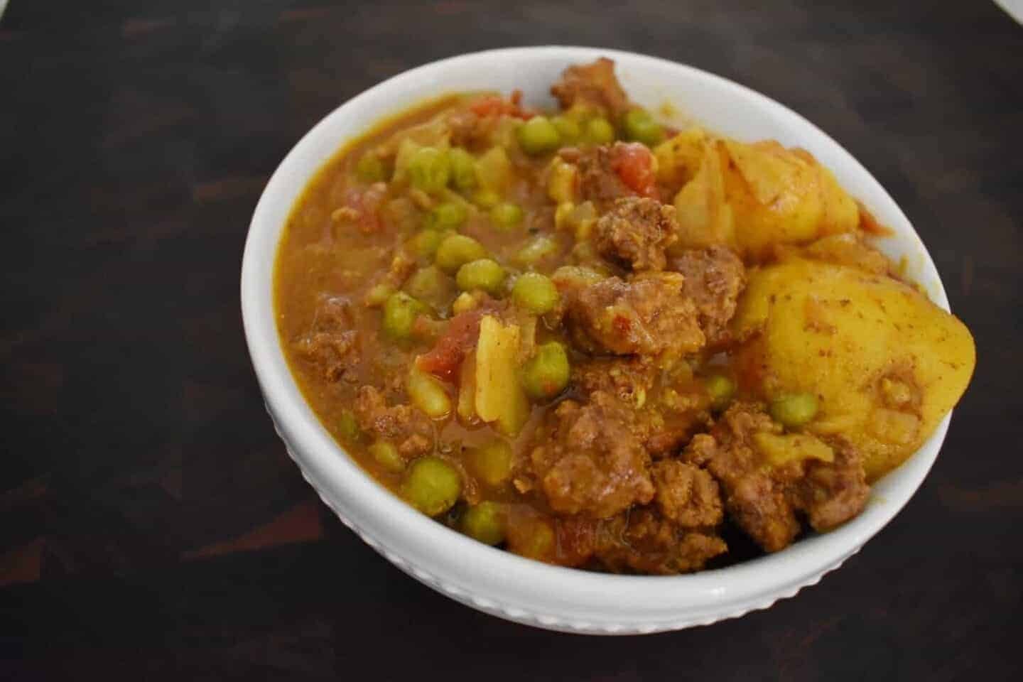 beef and potato curry