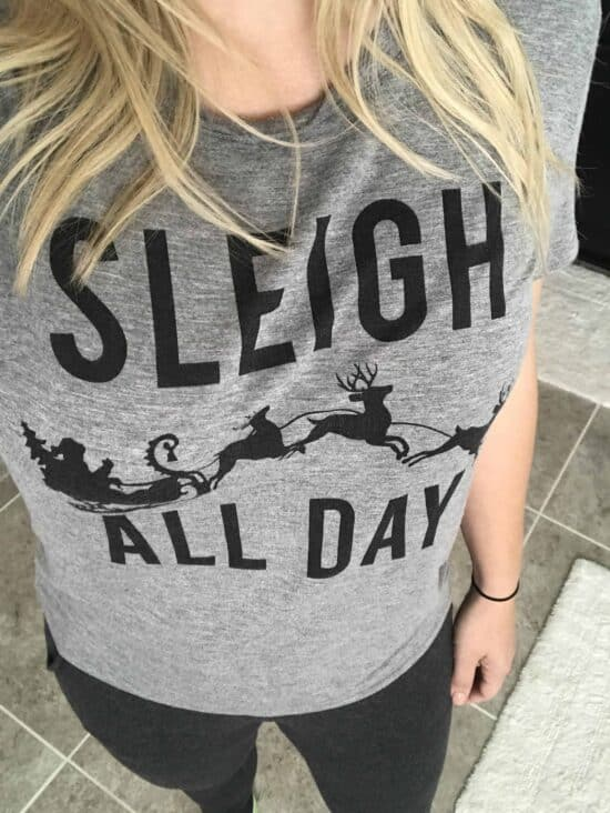 sleigh all day target