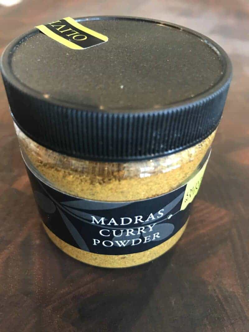 madras curry powder olive & vine