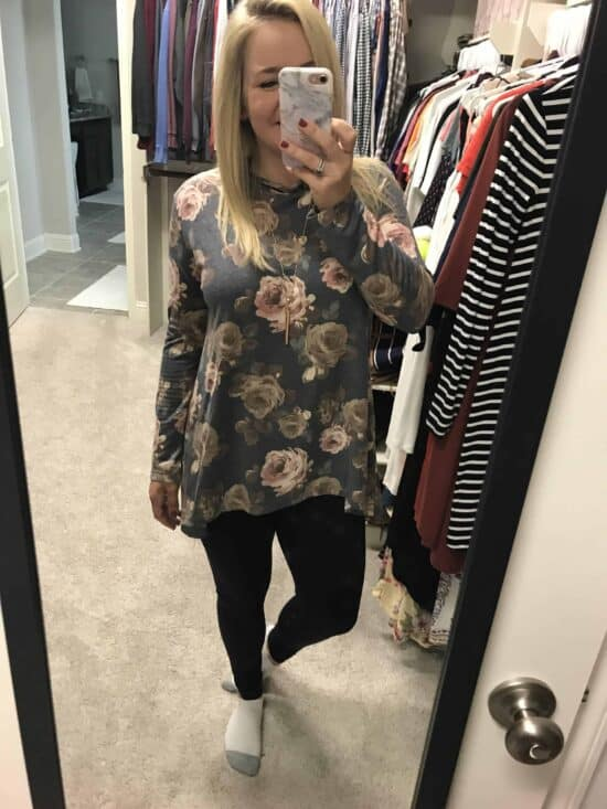 fall floral tunic jane