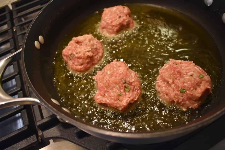 italian meatballs