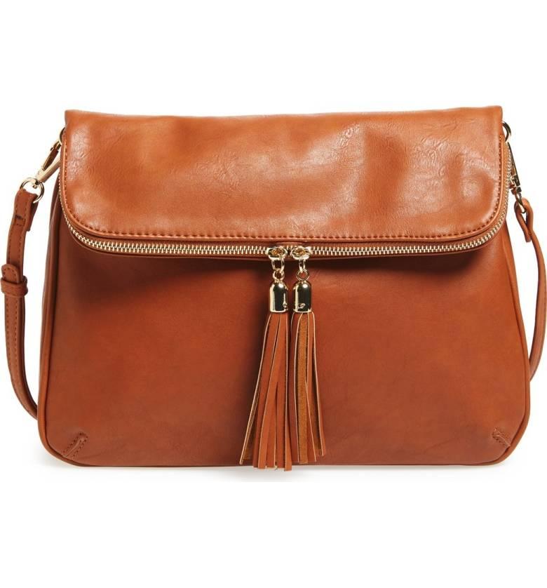 BP Foldover Crossbody Bag