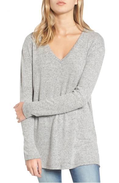 BP V Neck Long Sleeve Sweater