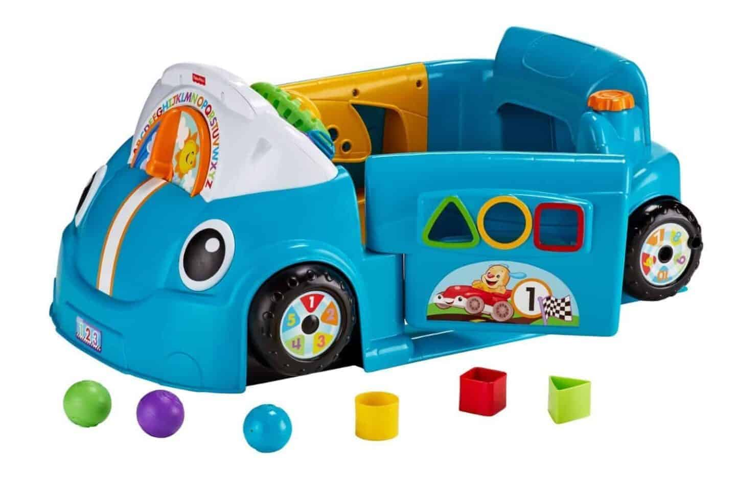 laugh and learn smart stages blue car