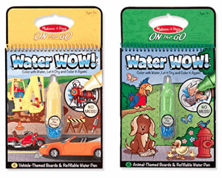 Melissa & Doug on the go water wow reusable