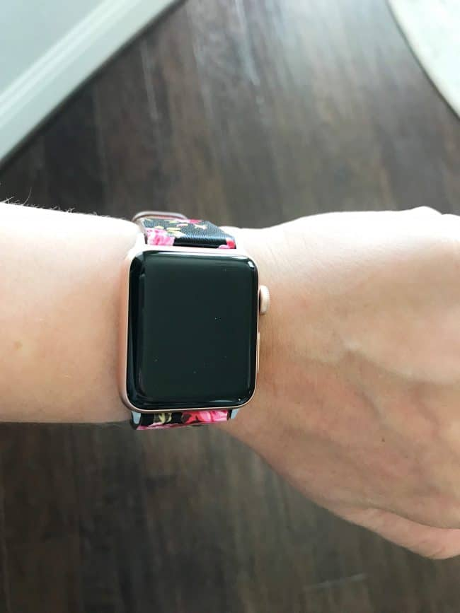 floral apple watch band
