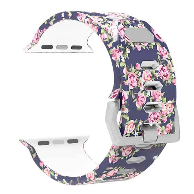 antemart apple watch band floral