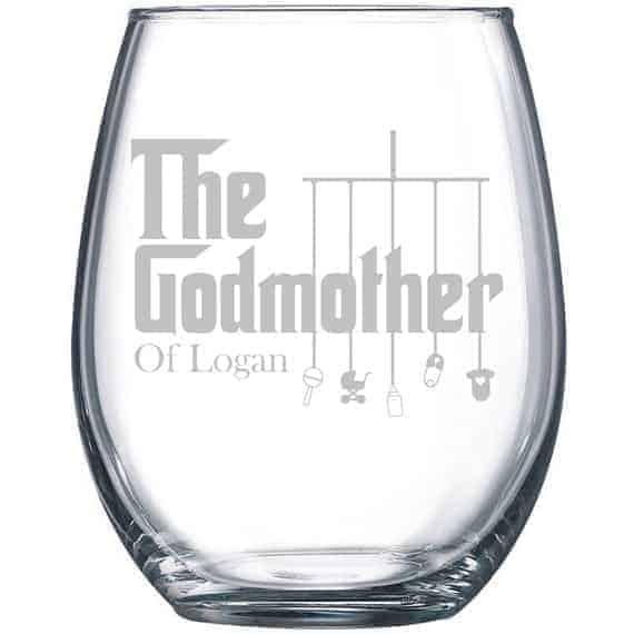 godmother wine glass