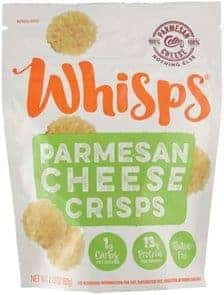 parmesan cheese whisps