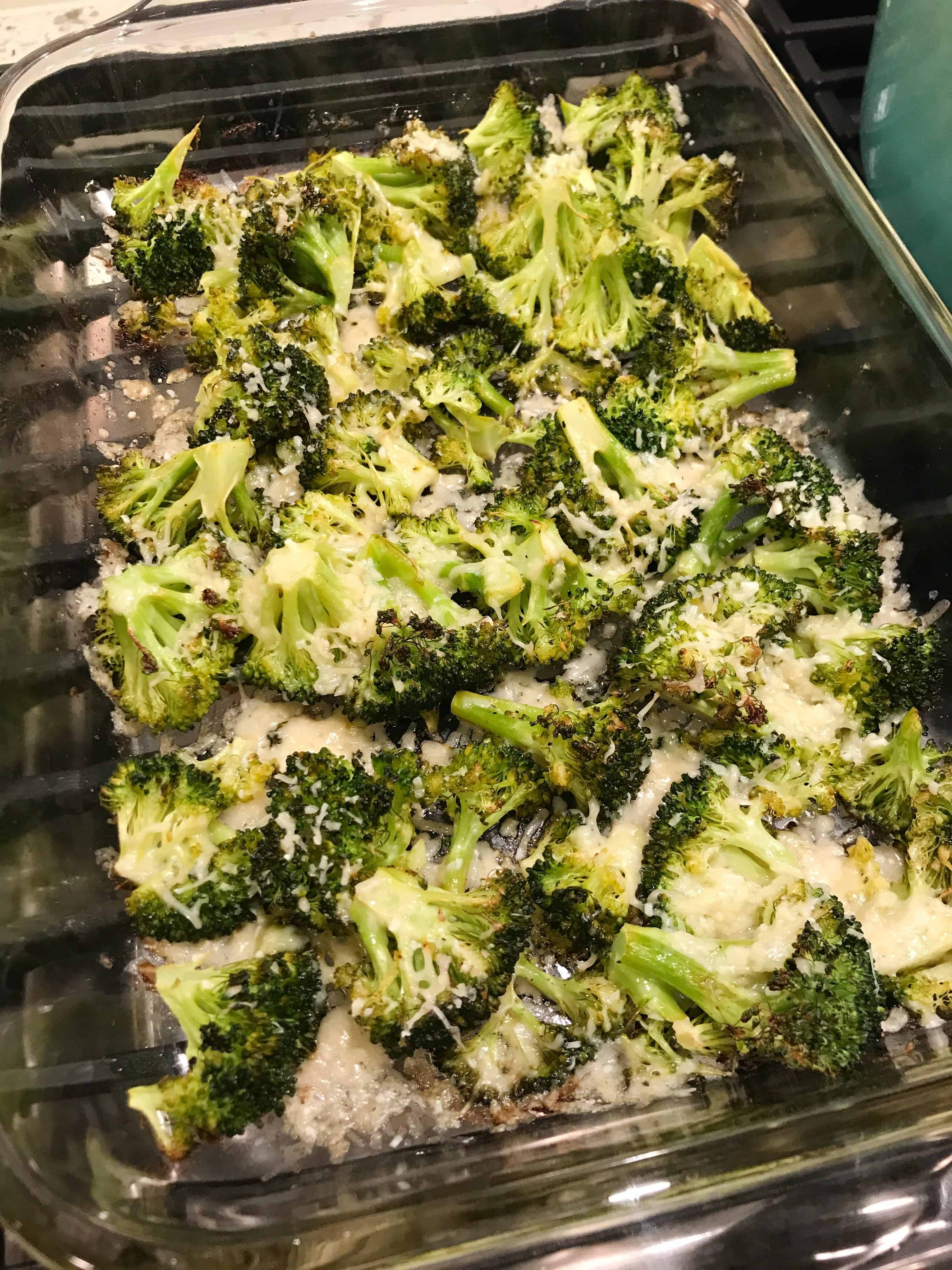 Lemon Parmesan Broccoli