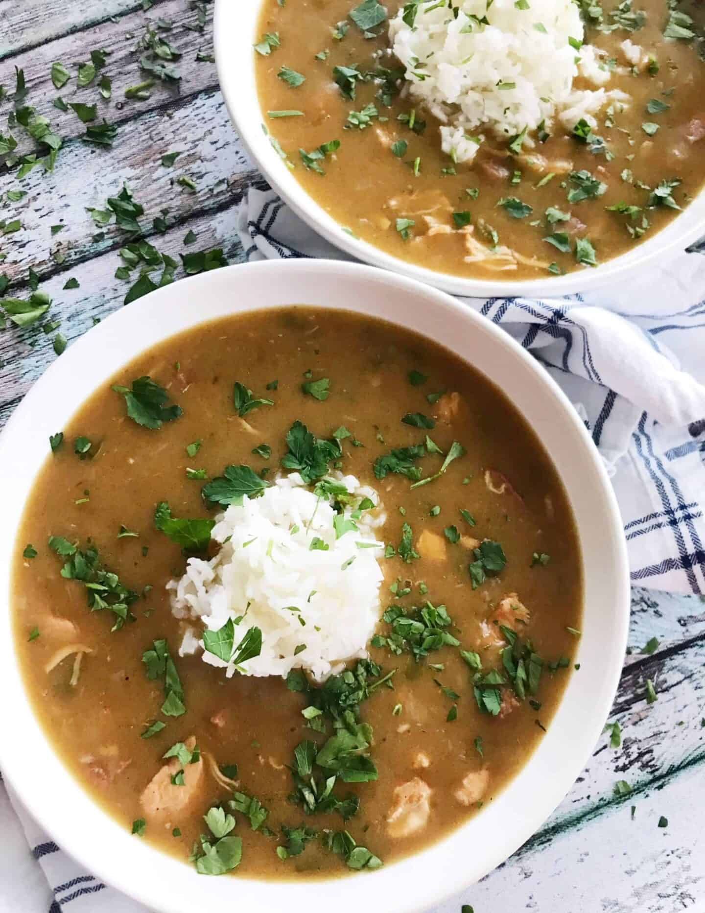 Chicken and Sausage Gumbo 1
