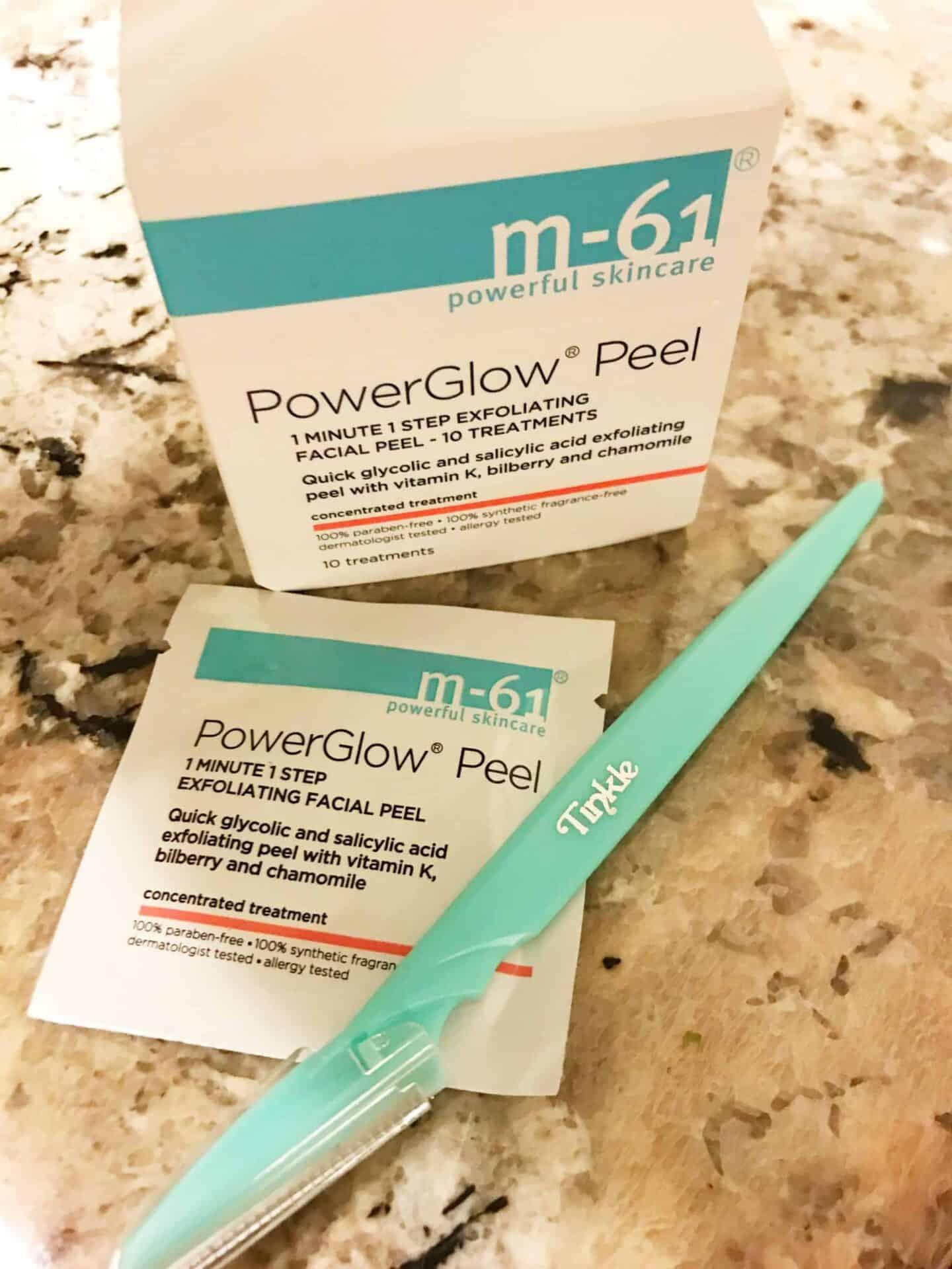 powerglow peel and tinkle razor