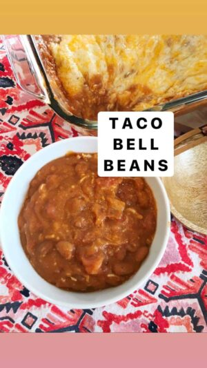 Taco Bell Beans