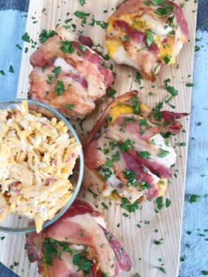 Pimento Cheese Stuffed Chicken