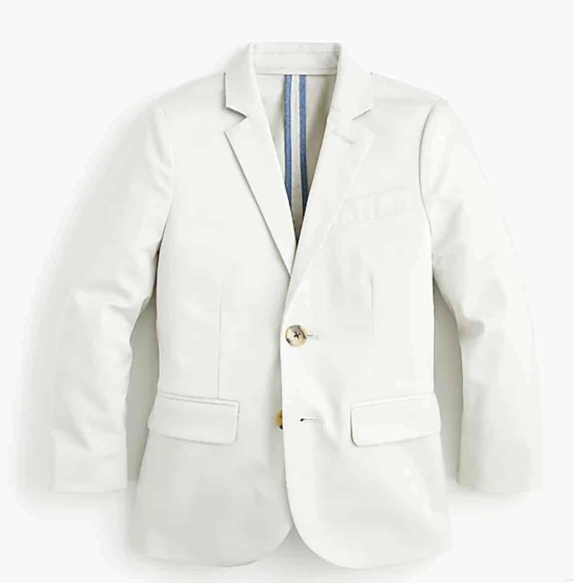 spring boys suit jacket stretch