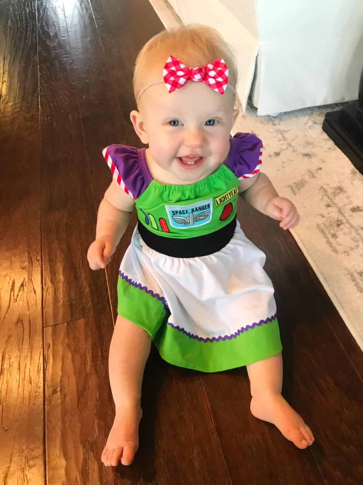 buzz lightyear girls dress