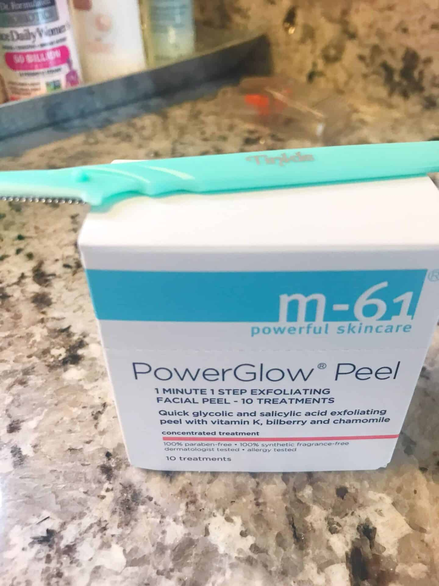 Tinkle Razor and Power Glow Peel
