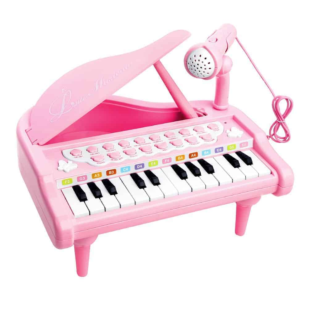 Piano Toy Keyboard with Microphone