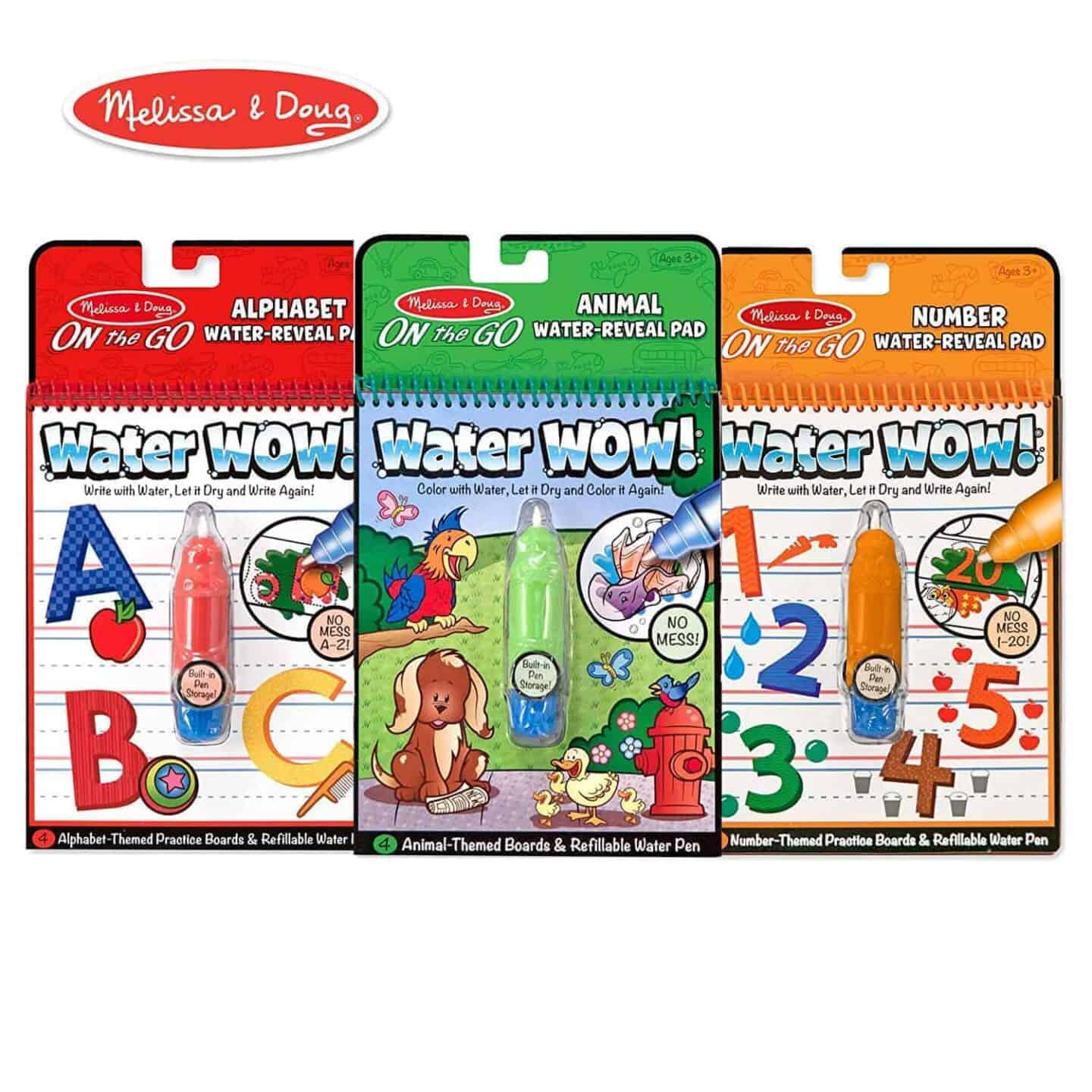 Water Wow Reusable Coloring Packs