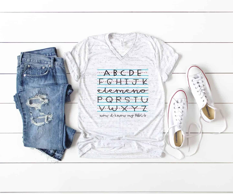 Back to School Teacher Gift Tshirt