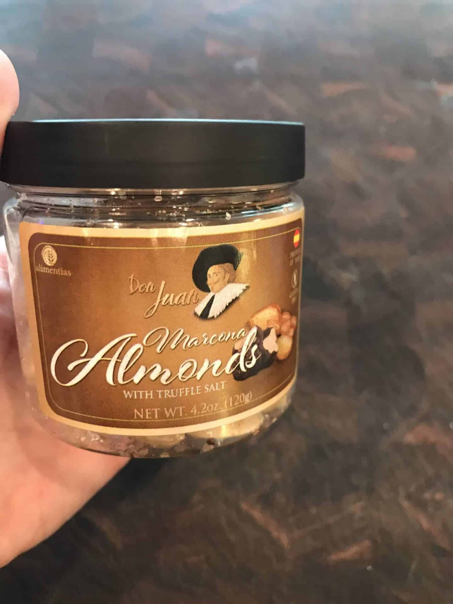 truffle marcona almonds