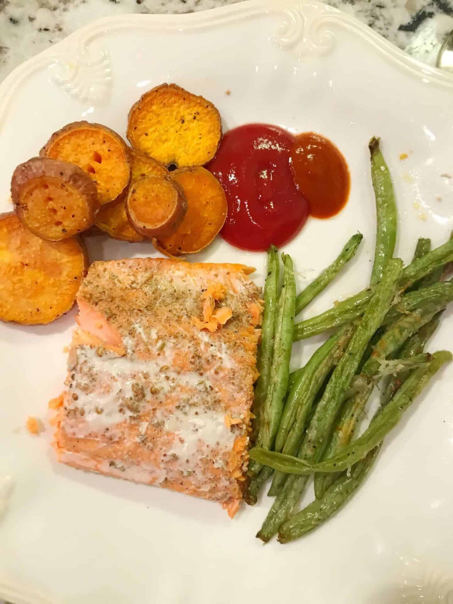Easy Roasted Salmon